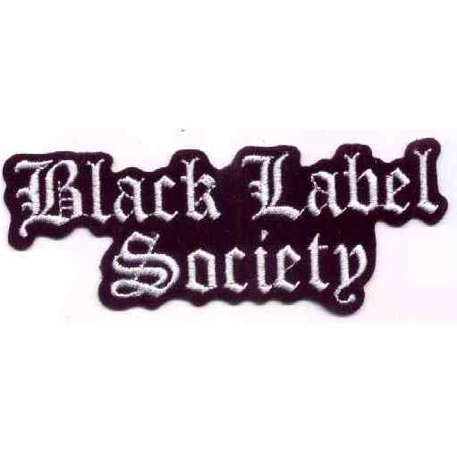 Tygmärke Broderat Black Label Society
