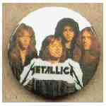 Övrigt. Pin Metallica group
