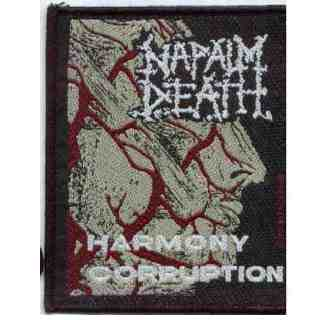 Tygmärke Napalm Death sp 874