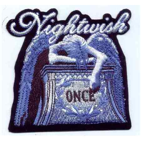 Tygmärke Broderat Nightwish