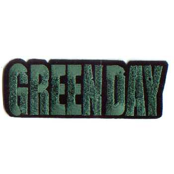 Tygmärke Broderat Green Day