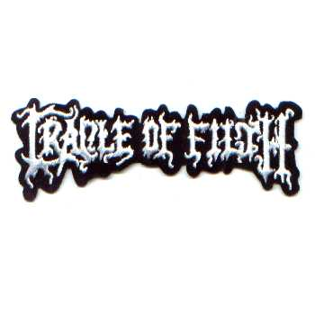 Tygmärke Broderat Cradle of Filth