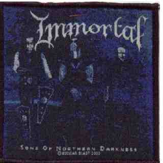 Tygmärke Immortal. Sons of Norhern darkness