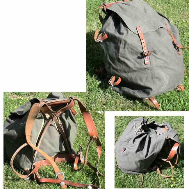 Militär backpack väska