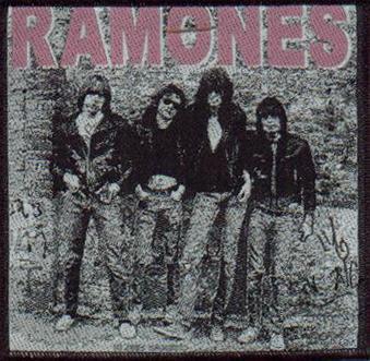 Tygmärke Ramones sp 1764