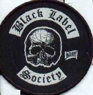 Tygmärke Black Label Society