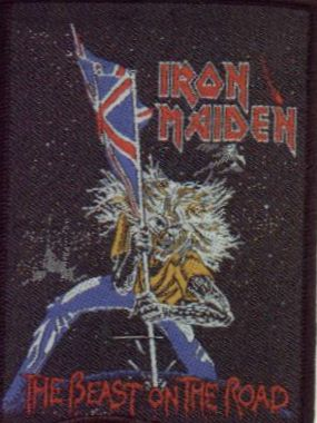 Tygmärke Iron Maiden, The Beast on the Road sp 1818
