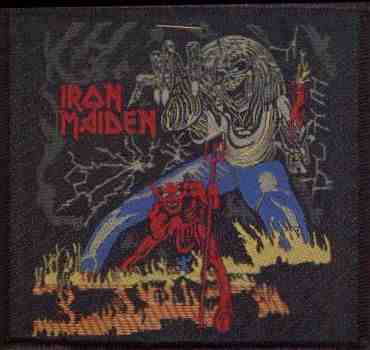 Tygmärke Iron Maiden, Number of the Beast sp 1819