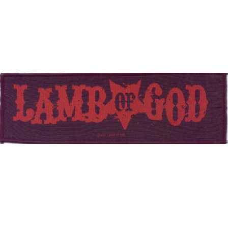 Tygmärke Lamb of God