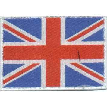 Tygmärke GB, UK, Union Jack