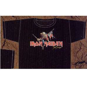 T-shirt Iron Maiden The Trooper