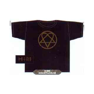 T-shirt HIM, Heartagram